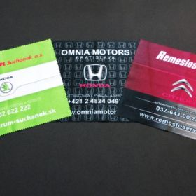 Handričky z mikrovlákna - utierky - Citroen, Honda, Škoda