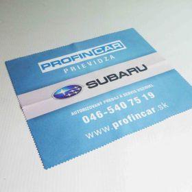 Handričky z mikrovlákna - utierky - Subaru