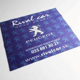 Handričky z mikrovlákna - utierky - Peugeot