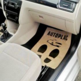 Ochranné papierové koberčeky pre auto servisy - Autoplac
