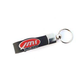 Kožené a gumové klíčenky s logem - referencia - JMR auto