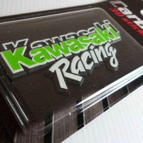 3D samolepky na auto - Kawasaki
