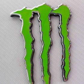 3D samolepky na auto - Monster Energy
