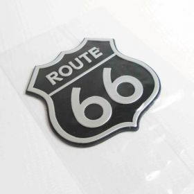 3D samolepky na auto - Route 66