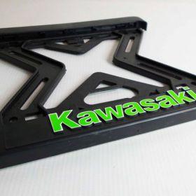 Držiak ŠPZ - moto - referencie - Kawasaki