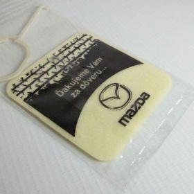 Auto parfumy - referencie - Mazda