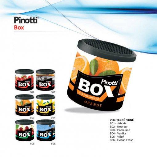 Pinotti BOX - osvěžovač vzduchu v krabičce